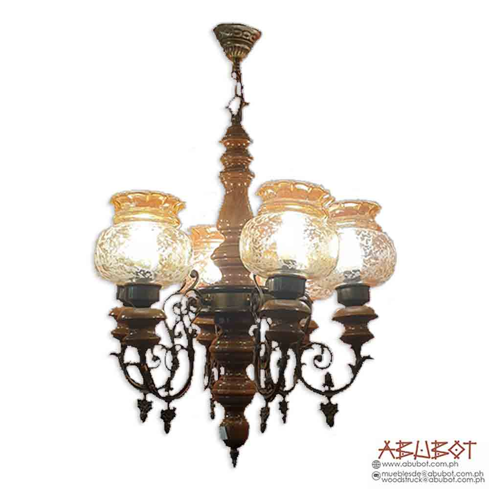 19-895 6Lights Chandelier 24x24x32