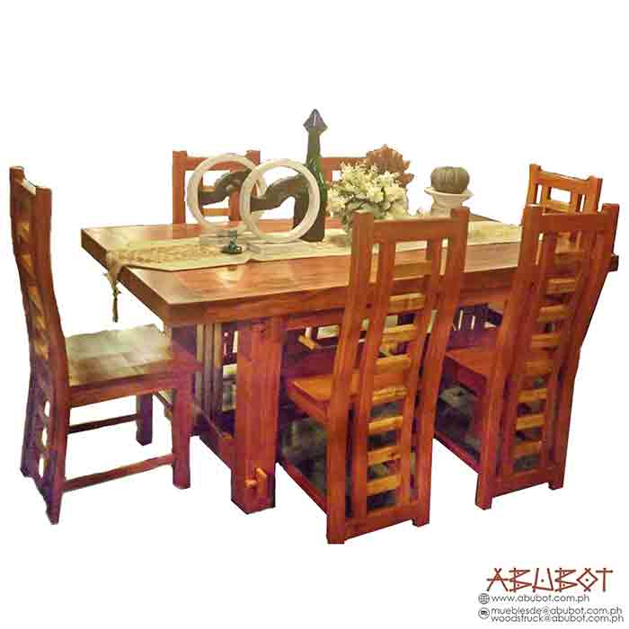 Dining Set 6 seater Longback