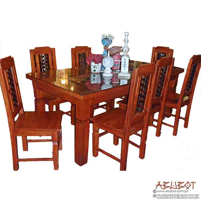 Dining Set, 8 Seater Banig