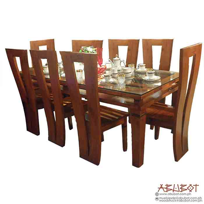 Dining Set, 8 Seater Victory Double Frame