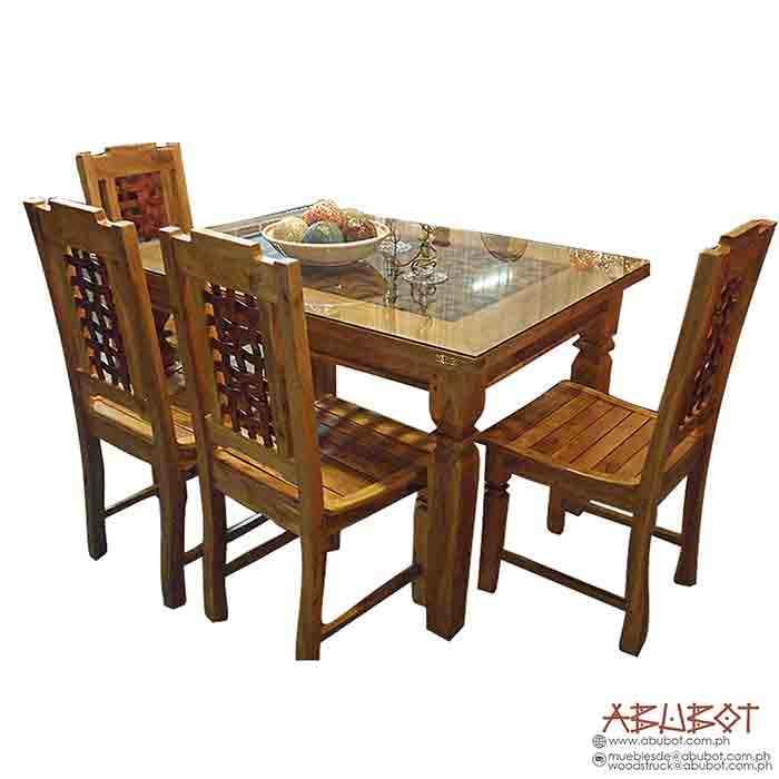 Dining Set 4 Seater Banig