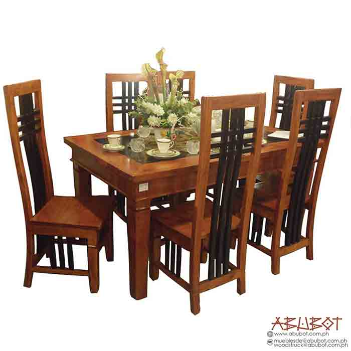 Dining Set 6 Seater Cross