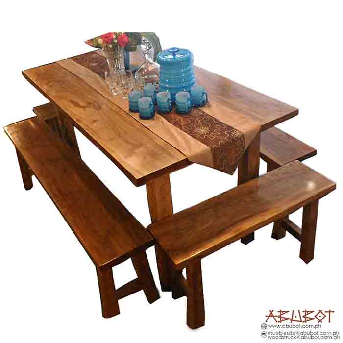 Dining Set 6s w/ Bench