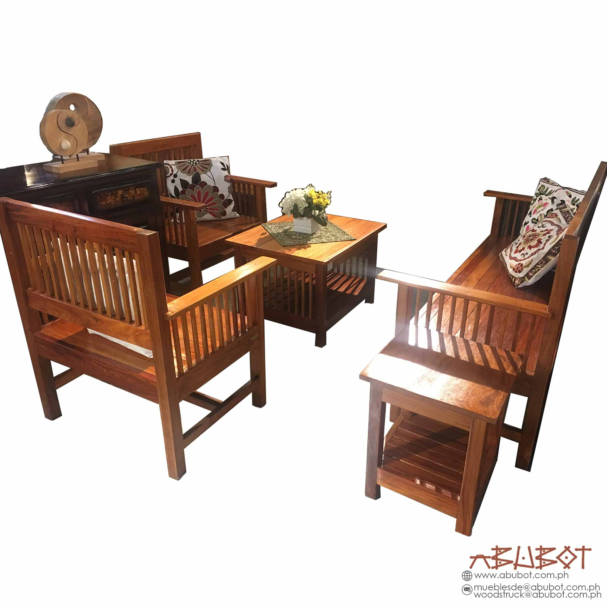 Sala Set Narra w/ 2 Side Table