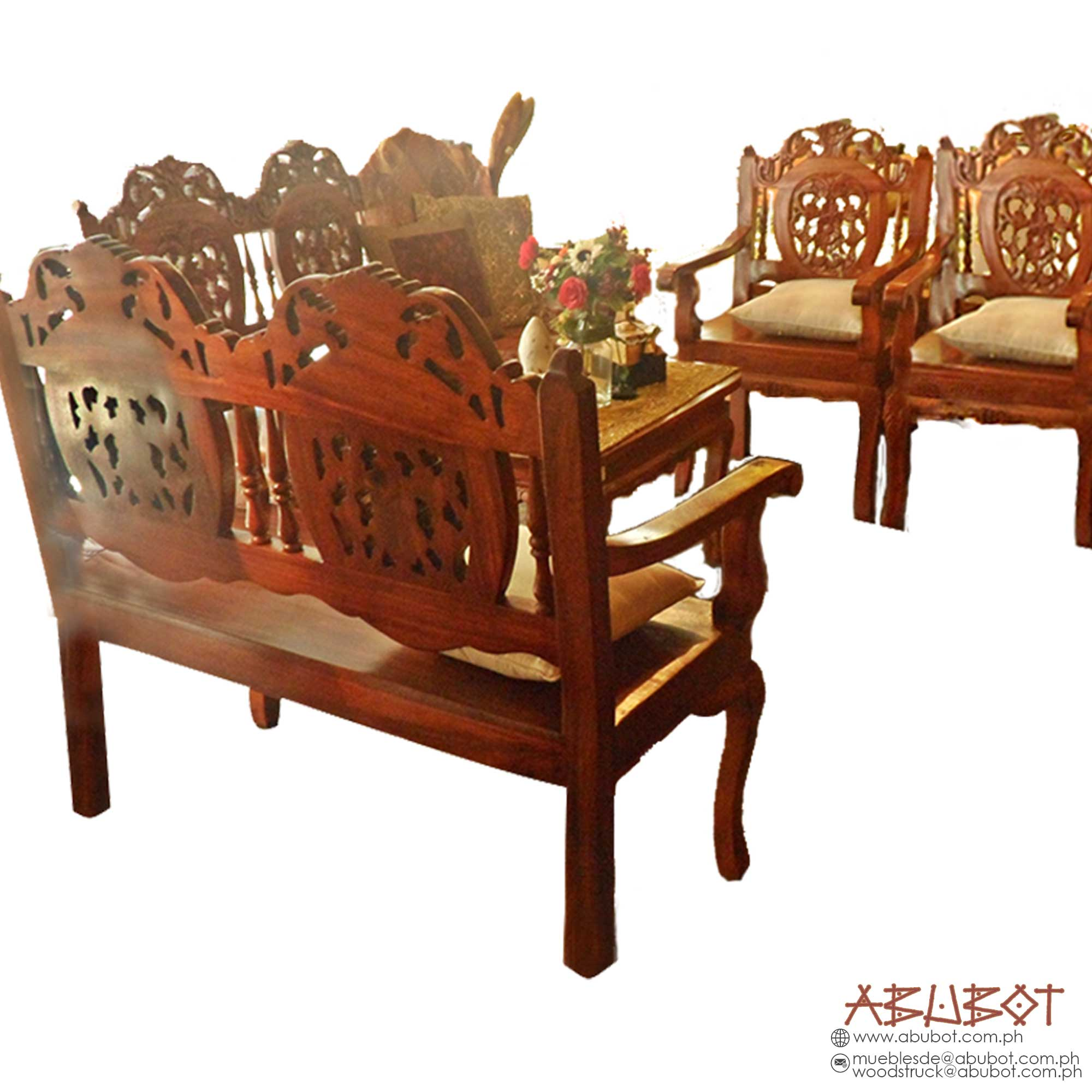 Sala Set w/ Carving Set/5 Canape