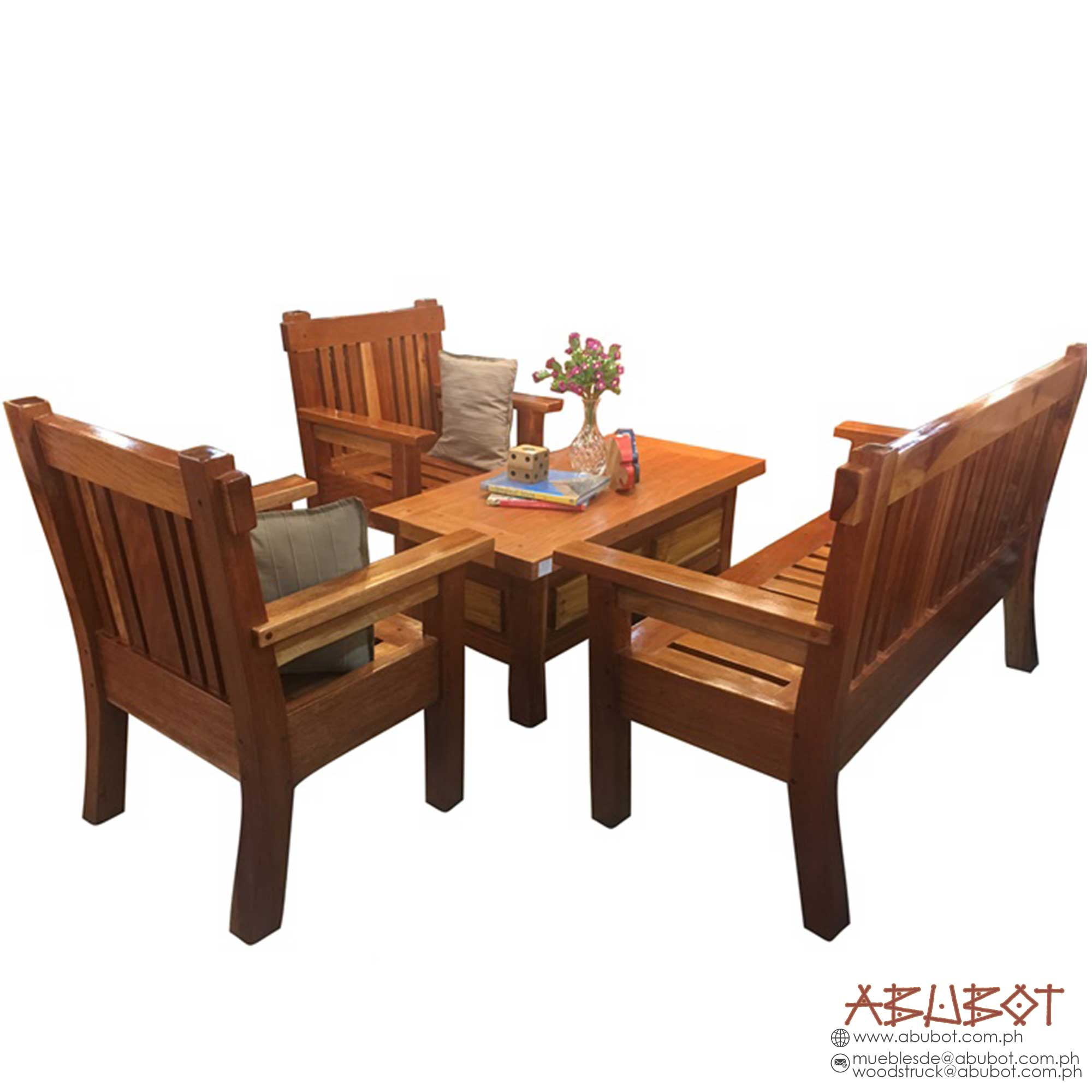Sala set Slat w/ Big Center Table