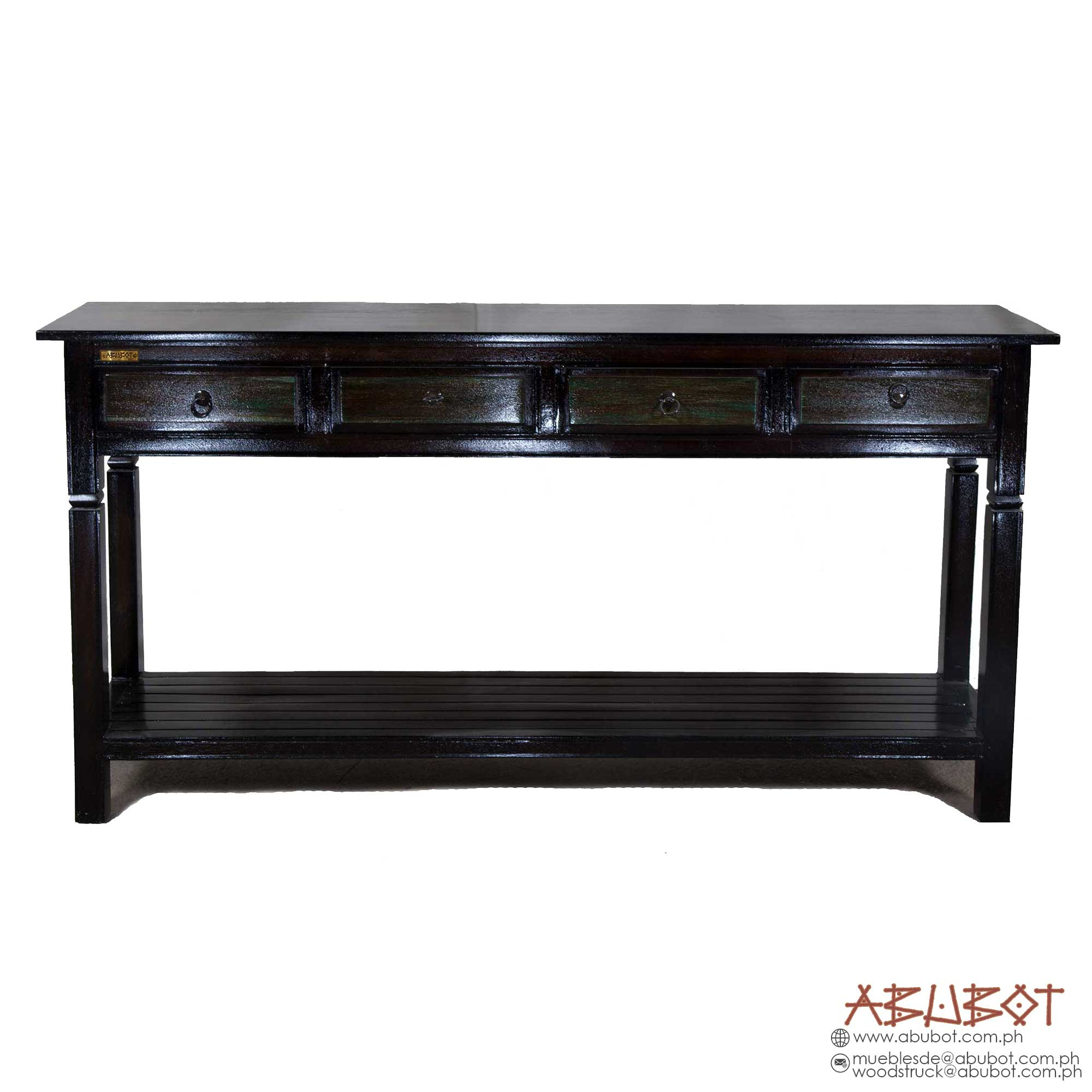 Console 4 Drawer