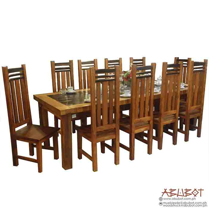 Dining set 10 seater Naric Camagong