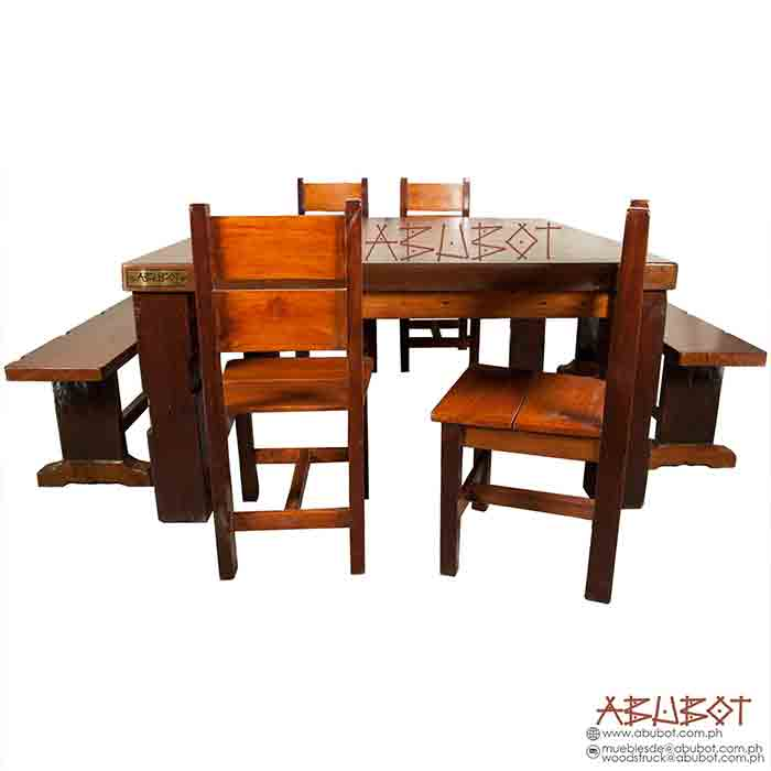 Dining Set Traviesa Square Mix Oldwood Hand Sale Philippines