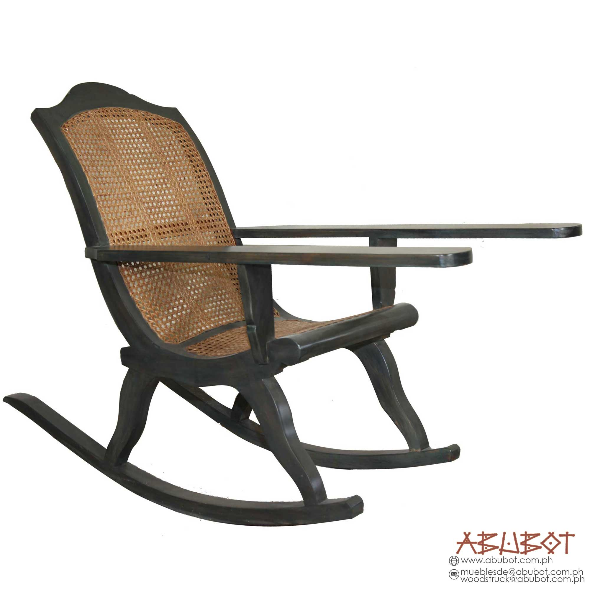 Rocking Chair Soliya Back (Dark Slate Blue Finish)